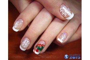 Ногти на новый год картинки 3