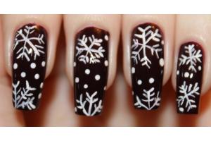 Ногти на новый год картинки 6