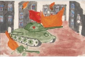 Рисунок на тему война глазами детей 3