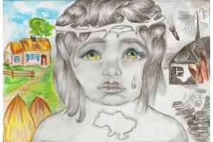 Рисунок на тему война глазами детей 5