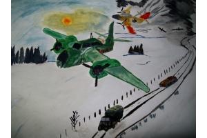 Рисунок на тему война глазами детей 6