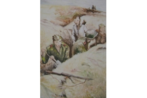 Рисунок на тему война глазами детей 7