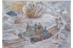 Рисунок на тему война глазами детей 8
