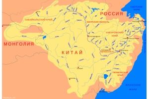 Река амур на карте 2