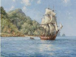 Картинки корабли в море