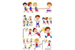 Картинки спорт детские