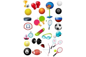 Картинки спортивный инвентарь 3