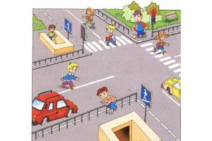 Рисунки правила дорожного движения 2