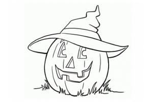 Детские рисунки на хэллоуин 5