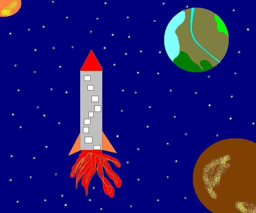 практически картинка космоса в паинте преподобным преподобен