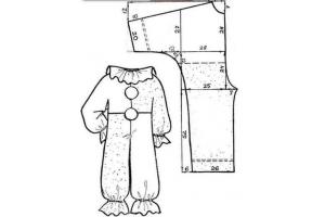 Новогодний костюм петрушки фото 2