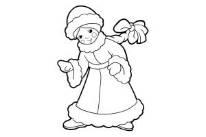 Снегурочка фото для детей 4