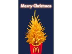 Креативные открытки рождество 7