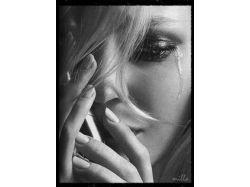 Грустные картинки аниме слёзы
