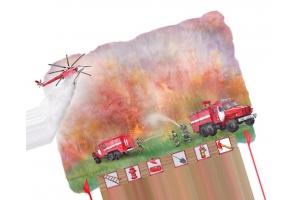 Пожар рисунки 6