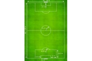 Разметка футбольного поля 3