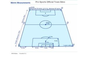 Разметка футбольного поля 8