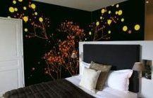 Дизайн интерьера рисунки стенах 7