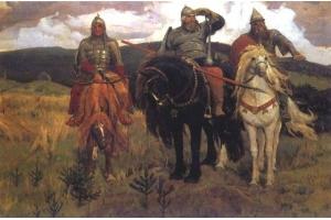Русские богатыри картинки 4