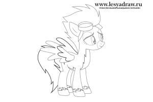 Спитфайр пони 3