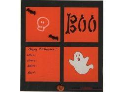 Хэллоуин открытки своими руками