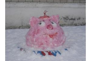 Снежные фигуры фото 1