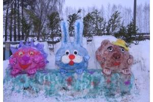 Снежные фигуры фото 5
