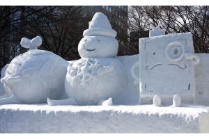Снежные фигуры фото 6
