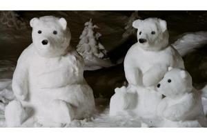 Снежные фигуры фото 7