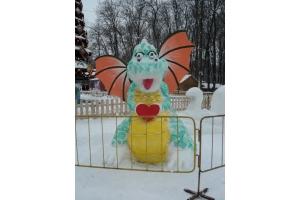 Снежные фигуры фото 8