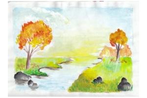 Пейзаж рисунки