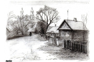 Пейзаж рисунки 2