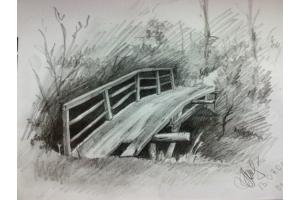 Пейзаж рисунки 5
