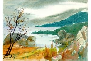 Пейзаж рисунки 7