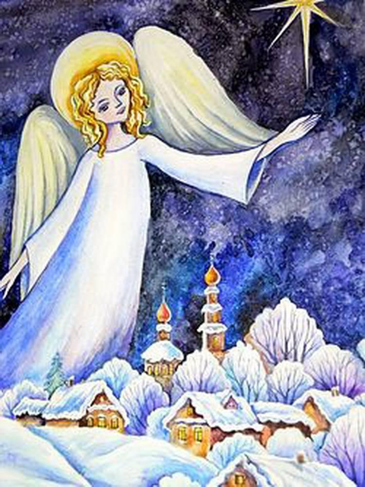 Грудь, рождественское чудо картинки рисунки