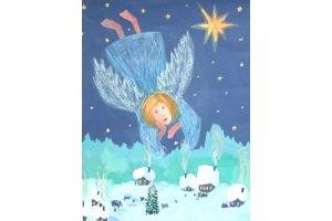 Рисунки рождественские 2