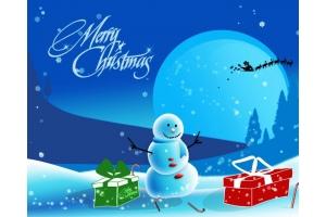 Рисунки рождественские 4