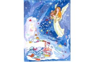 Рисунки рождественские 6