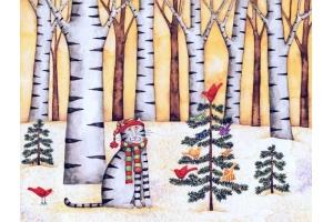 Рисунки рождественские 8