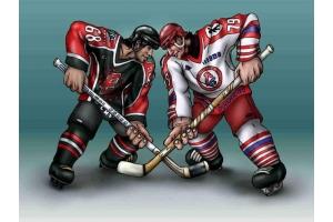 Хоккей рисунки