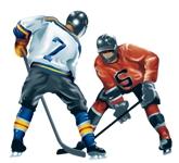Хоккей рисунки 2
