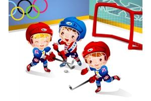 Хоккей рисунки 4
