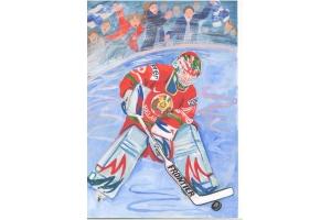 Хоккей рисунки 5