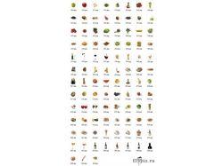 Картинки еда и напитки