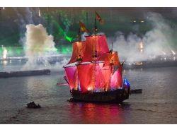 Фото корабли с алыми парусами