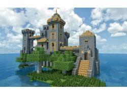 Красивые замки в майнкрафт фото 7