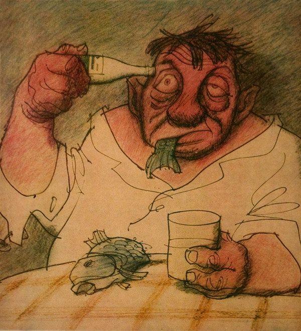 Картинок рядом, смешные рисунки выпивка