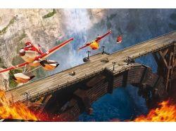 Рисунки самолёты огонь и вода