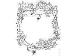 Выжигание по дереву рисунки цветы 7