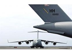 Широкоформатные обои авиация